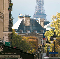 Luxembourg and Eiffel Tower, Paris