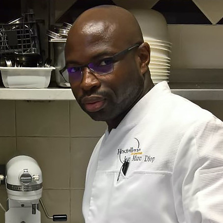 In the Pastry Lab with Chef Jean Marc Diop