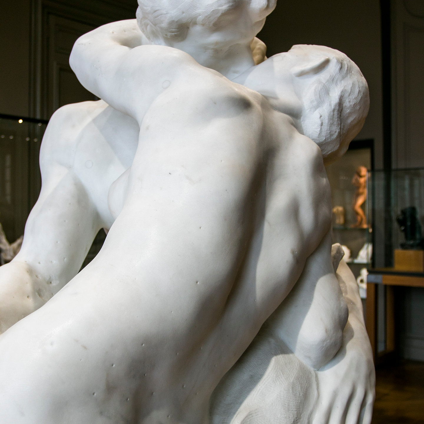 The Kiss, Auguste Rodin, 1882