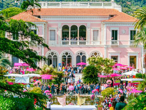 Fête des Roses, 2019 at the Villa Ephrussi de Rothschild
