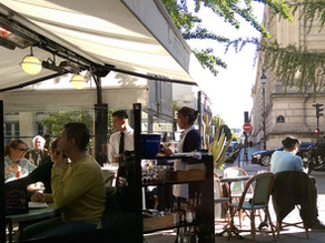 Lunching In Le Marais - La Terrasse des Archives