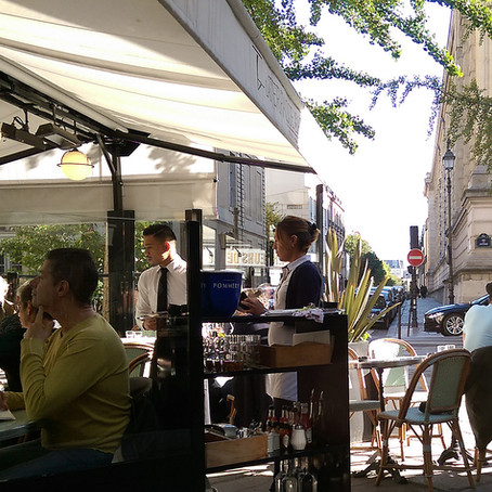 Lunching In Le Marais - La Terrasse des Archives