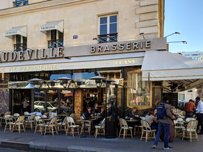 Brasserie Vaudeville, Paris - A Reinvented Roaring Twenties' Treasure