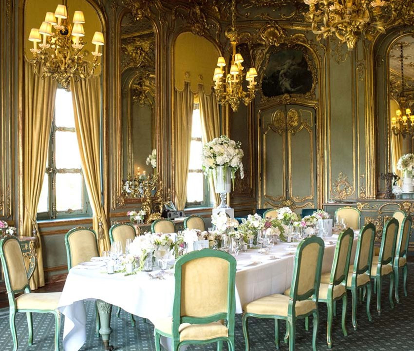 The French Dining Room, Cliveden House, Berkshire, UK -  © Cliveden House