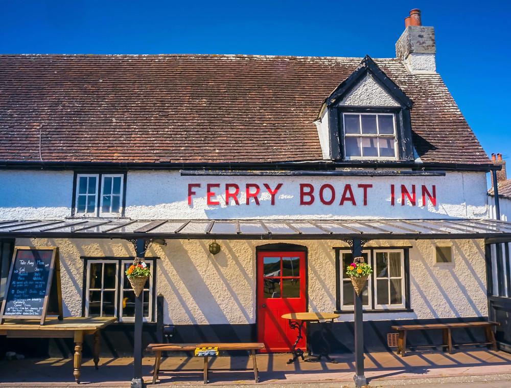 Ferry Boat Inn, Felixstowe Ferry - photo ©Jen Maltby