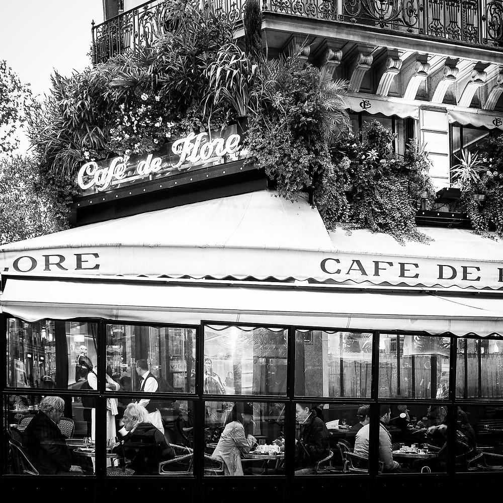 Café de Flore, a Parisian institution