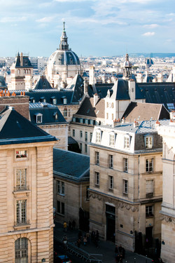 Medieval Paris Buildings