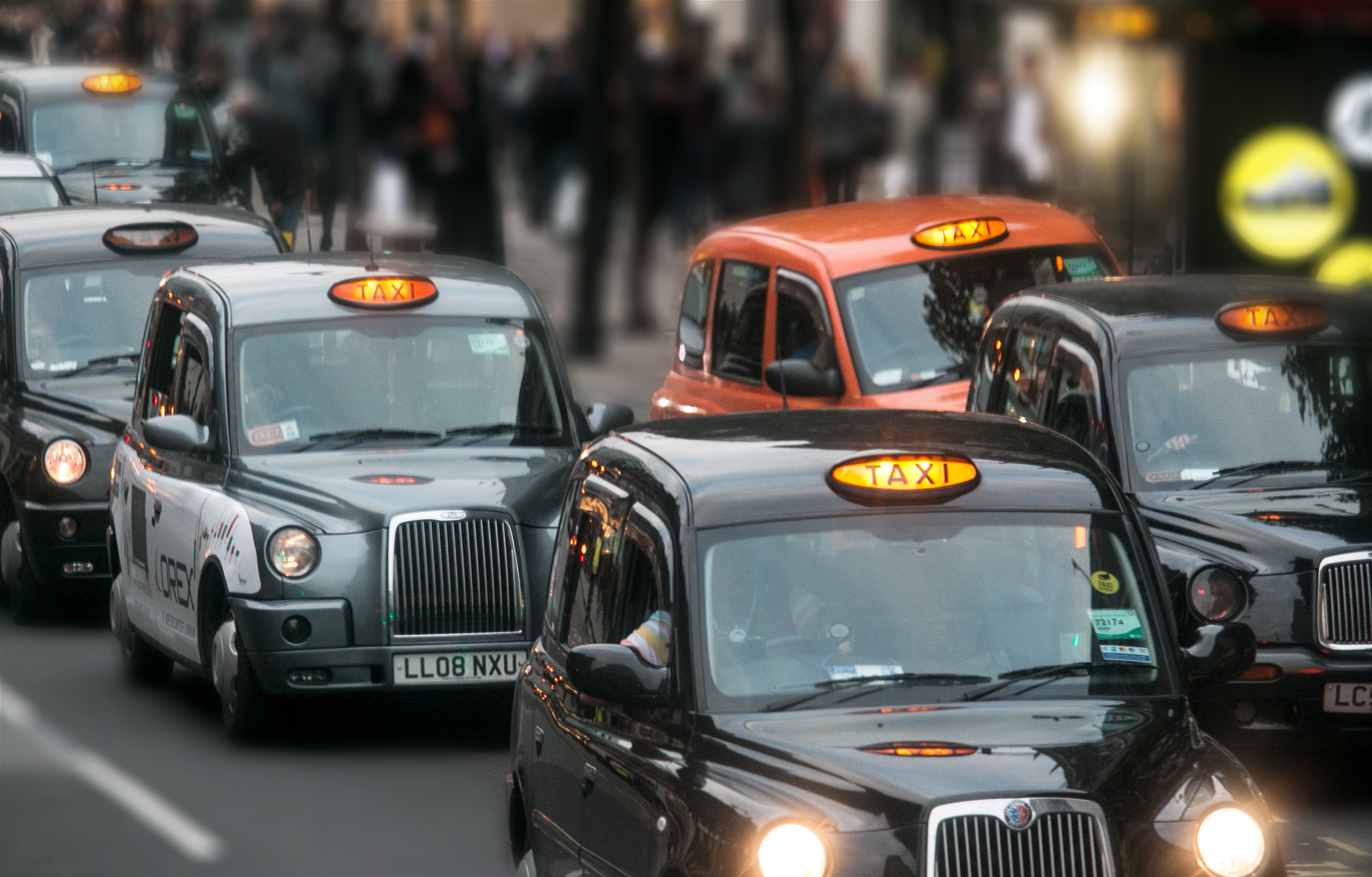 British Cabs, London