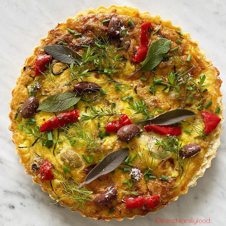French Cooking: Easy Vegetarian Quiche