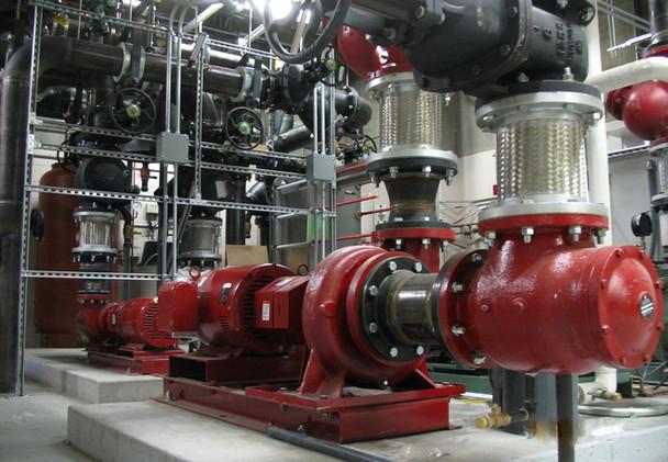 Heating Water Pumps at TSAIA