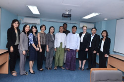 SET meet with ministers of Myanmar June 2013