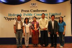 แถลงข่าวความร่วมมือระหว่างไทยพม่า