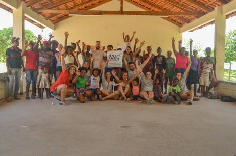 Equipe de voluntários