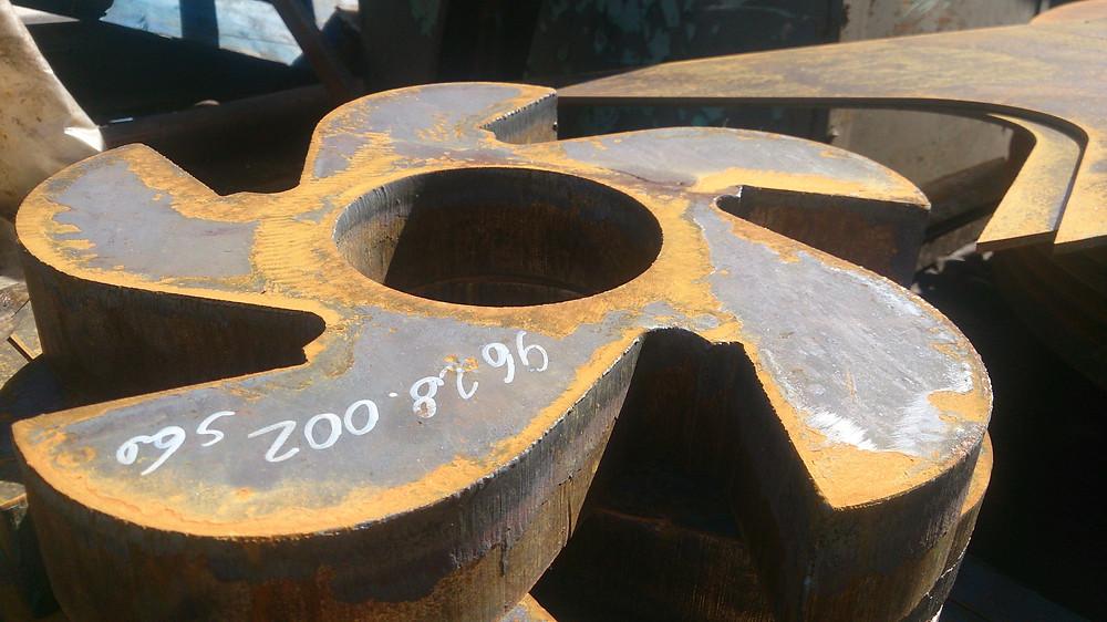 изготовили новые билы на ротор дробилки