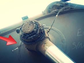Ремонт и усиление стрелы экскаватора на выезде