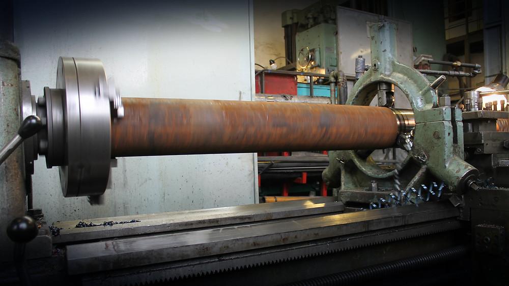 Изготовление вала дробилки полимеров
