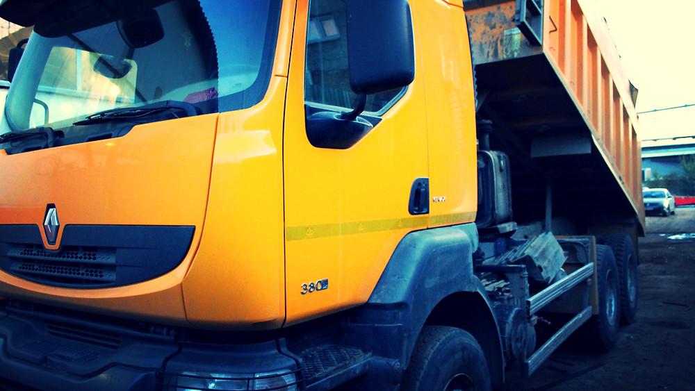 Ремонт рамы грузовика