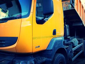 Ремонт рамы грузового самосвала Renault