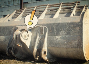 Ремонт ковша фронтального погрузчика