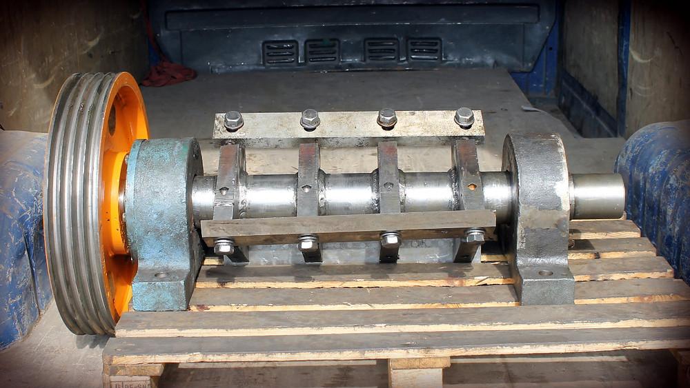 ротор дробилки полимеров после ремонта