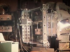 Ремонт и фрезеровка мобильным фрезерным станком электрододержателей ДСП