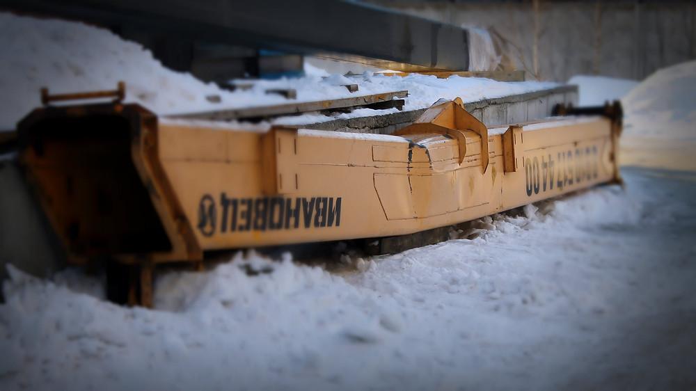 Стрела Ивановец согнулась в результате перегруза