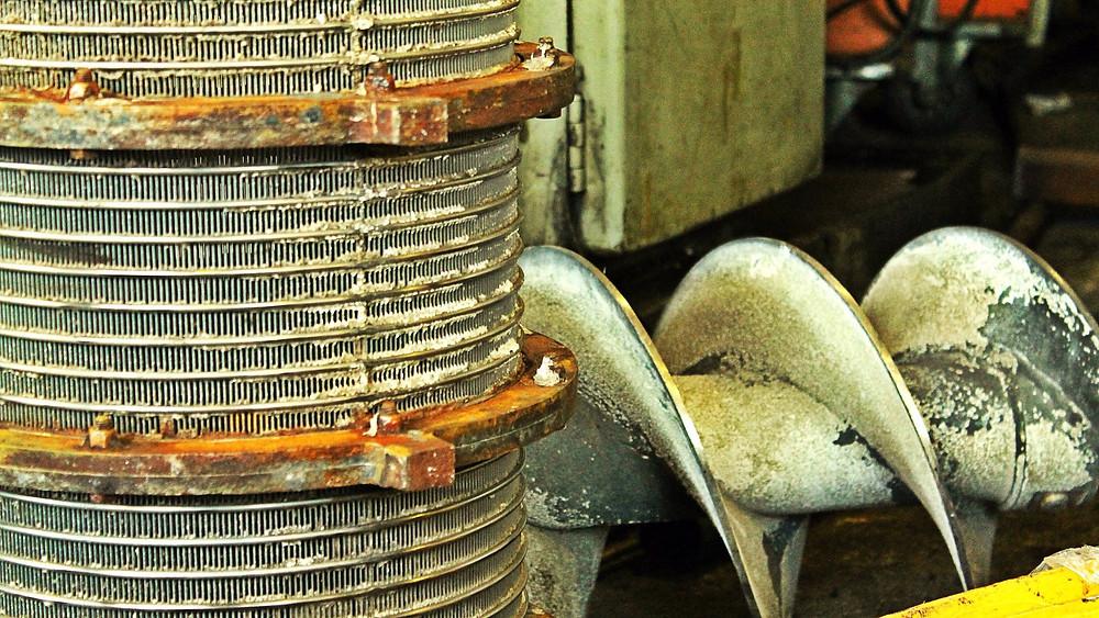 Ремонт шнека сепаратора