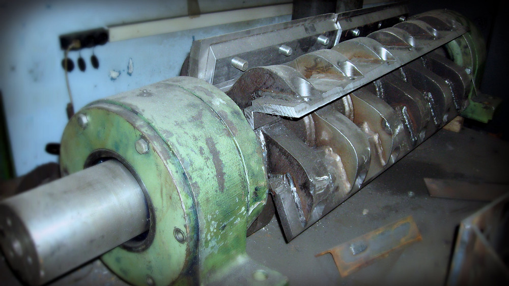 ротор дробилки после ремонта