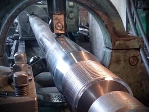 Изготовление колонн и гаек для термопластавтомата Sintesi 580