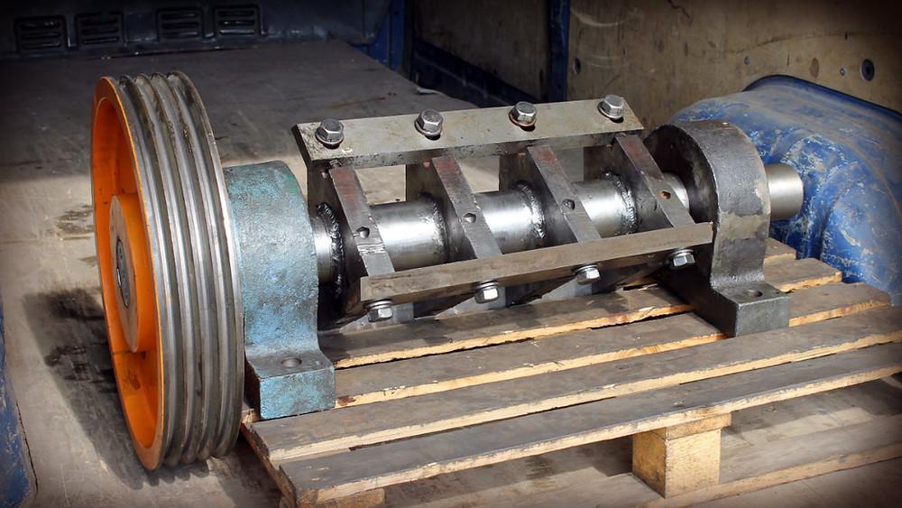 ротор готов к установке на дробилку