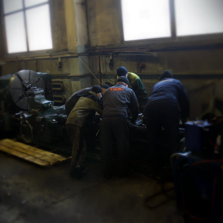 Подготовка токарного станка