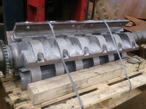 Ремонт ротора дробилки полимеров