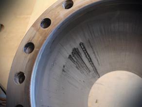 Шлифовка гильзы ⌀420 узла впрыска термопластавтомата
