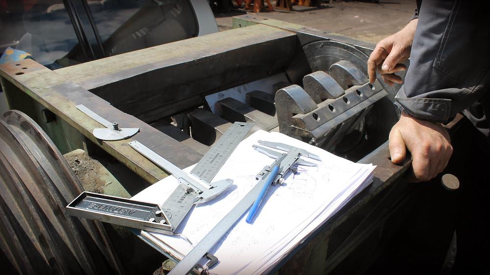 Изготовление нового ротора дробилки