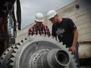 Ремонт планетарного редуктора и вала ротора тоннеле-проходческого комплекса