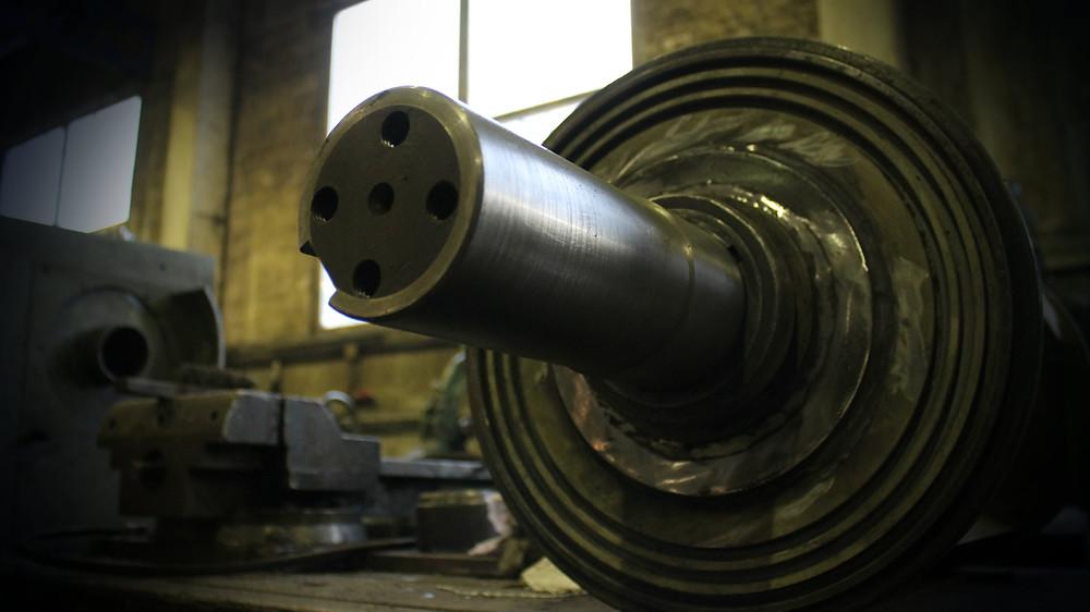 Шейка ротора измельчителя