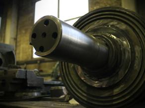 Ремонт ротора дробилки пластмассы Polimech SLF-2000