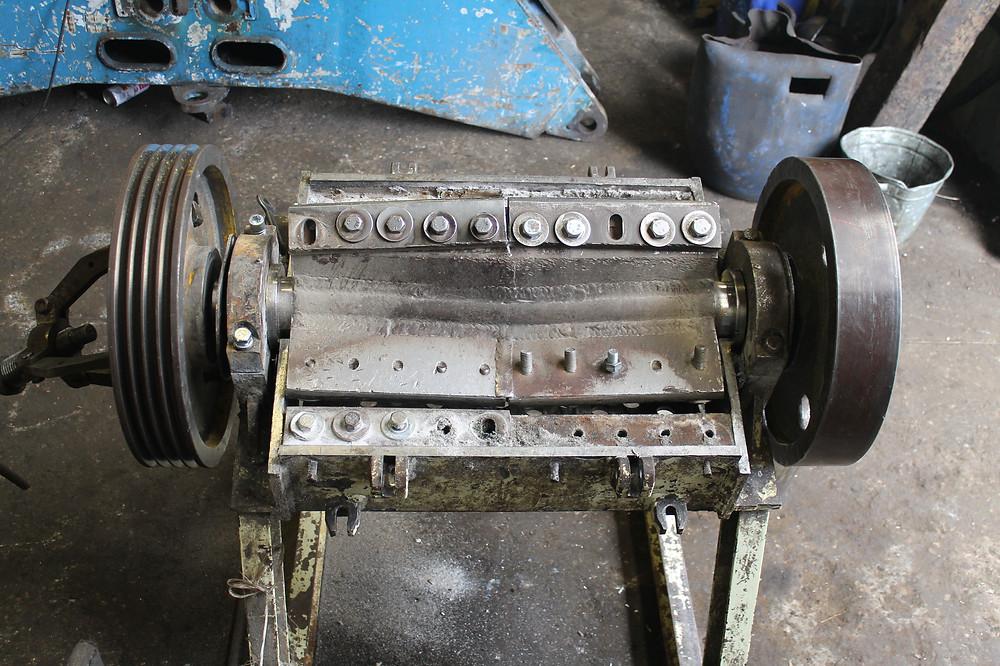 ротор дробилки до ремонта