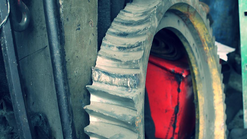 ремонт шестерни