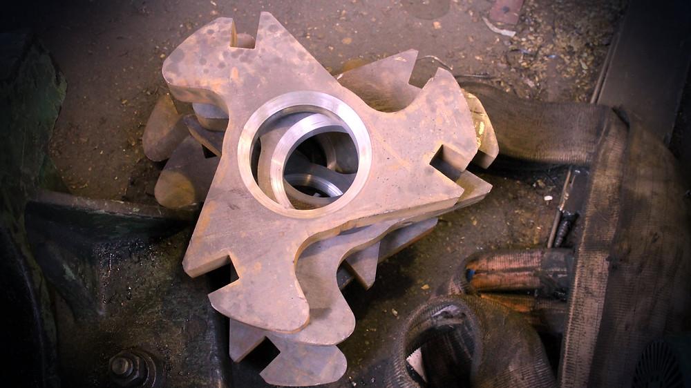 Билы ротора дробилки полимеров