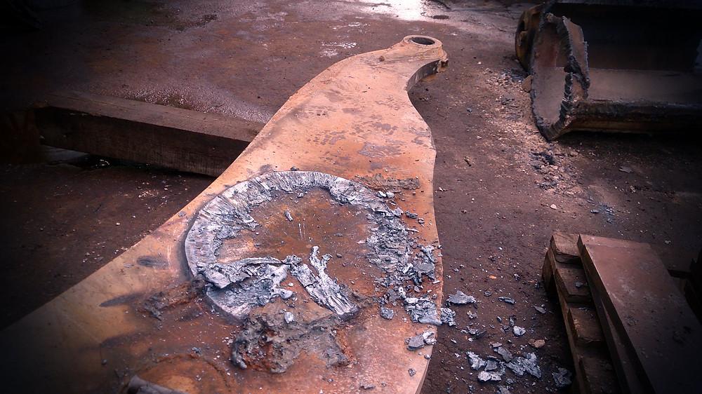 Демонтаж старого металла