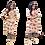 Thumbnail: Designer Floral Print Pant Style Salwar Suit
