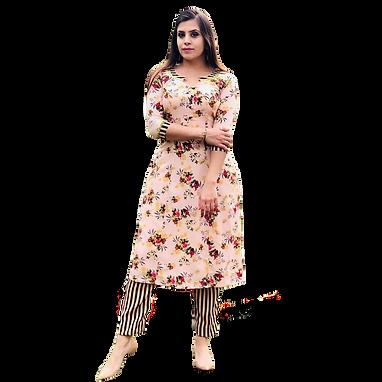 Designer Floral Print Pant Style Salwar Suit