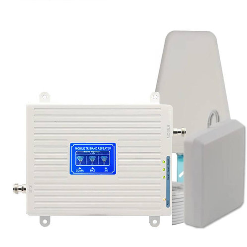 ABONIX Tri Band 3G 4G LTE Mobile Signal Enhancer Kit - Jio Support