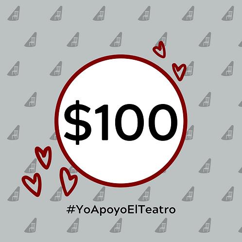 Paquete de donativo - $100