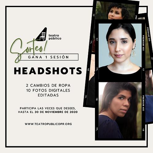 Sorteo Headshots 2020