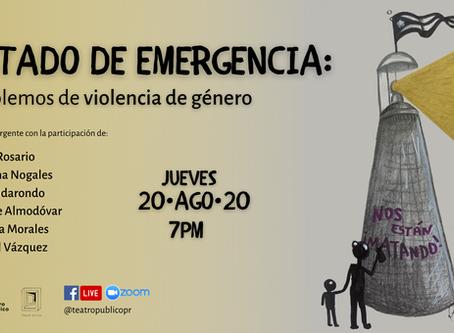 Organizaciones artísticas se unen al reclamo de Estado de Emergencia por la violencia de género
