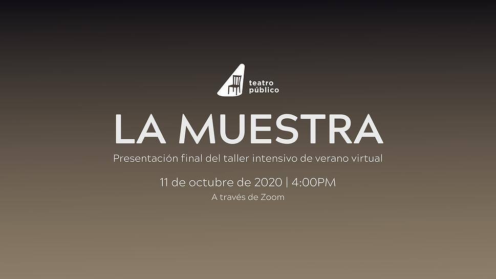 10 de octubre de 2020 _ 7_00PM www.teatr
