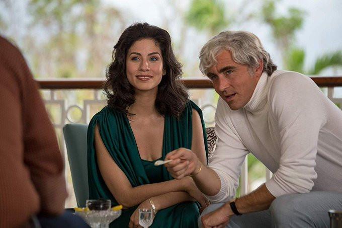Isabel Arraiza con Lee Pace en Driven