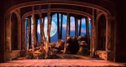 "Diseño de escenografía para ópera ""A Midsummer Night's Dream"" (University of Illinois)"